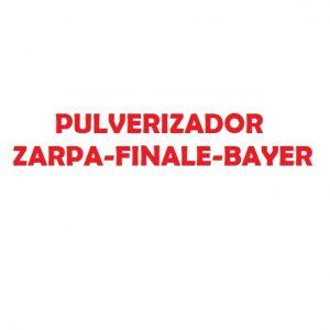 PULVERIZADOR ZARPA-FINALE-BAYER