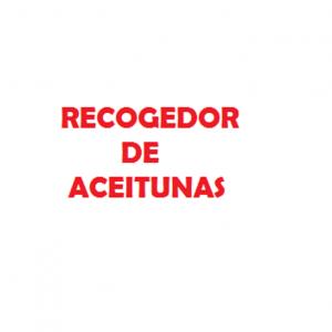 RECOGEDOR DE ACEITUNAS