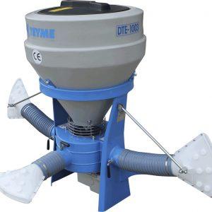 espolvoreador doble turbina