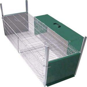 jaula captura con reclamo