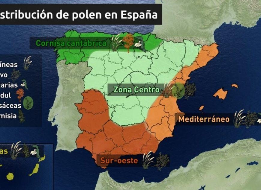 polen-por-zonas-en-españa